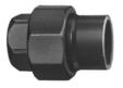 Temperguß (GTW) Verschraubung mit einseitigem zylindrischem Innengewinde und anderseigenr Klebmuffe