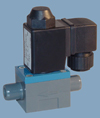 Kunststoffmagnetventil Typ 111